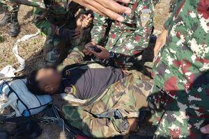 Một Thiếu tá lực lượng đặc nhiệm Campuchia tử nạn khi nhảy dù