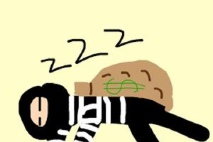 Clip: Tên trộm bị bắt vì ngủ quên trong phòng điều hòa quá mát