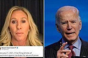 Hạ nghị sĩ Mỹ đòi luận tội ông Biden