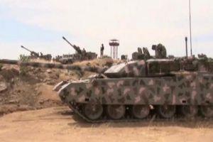 Xe tăng hạng nặng Trung Quốc lần đầu tham chiến