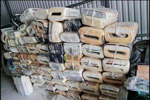 Công an bắt lô hàng điện lạnh Nhật đã qua sử dụng