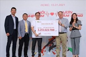 'Chạy vì trái tim 2020' vận động hơn 3 tỷ đồng phẫu thuật tim cho trẻ em