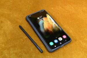 Đây là cách bút S Pen mới hoạt động trên Samsung Galaxy S21 Ultra
