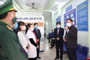 Thứ trưởng Bộ Y tế: 'Lào Cai có nguy cơ lây lan dịch rất cao'