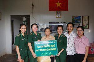 Chung tay hỗ trợ phụ nữ vùng biên giới