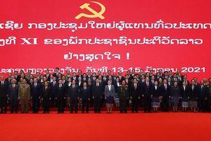 Bế mạc Đại hội Đảng NDCM Lào lần thứ XI