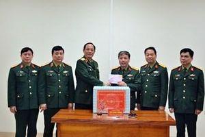 Thượng tướng Trần Quang Phương thăm, kiểm tra một số đơn vị thuộc Tổng cục Chính trị
