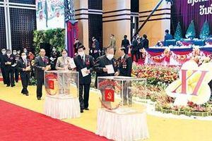 Bế mạc Đại hội đại biểu toàn quốc lần thứ XI Đảng Nhân dân Cách mạng Lào