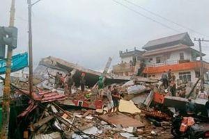 Động đất mạnh tại Indonesia khiến hàng trăm người thương vong