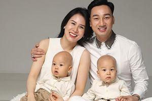 Vợ đẹp, con xinh của 'Táo Y tế' Thành Trung