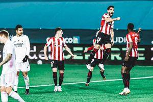 Thất bại trước Bilbao, Real lỡ hẹn vào chung kết Siêu cúp Tây Ban Nha