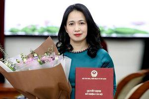 Bà Nguyễn Thị Hoàng Lan được bổ nhiệm làm Tổng Biên tập Báo điện tử Tổ Quốc