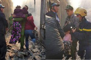 Cứu hơn 20 người mắc kẹt trong căn nhà nguy cơ đổ sụp vì lửa bao trùm
