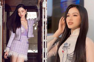 Đỗ Thị Hà nền nã với áo dài, Hoàng Thùy diện váy xuyên thấu hóa 'mỹ nhân ngư'