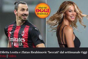 Ibrahimovic lại dính tin đồn ngoại tình với nữ MC