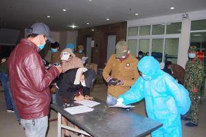 Cách ly 67 công dân từ Lào trở về nước lúc rạng sáng