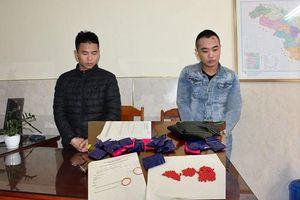 Bắt 2 thanh niên mua bán 3.800 viên hồng phiến