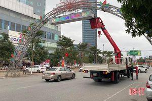 TP Hà Tĩnh sẽ xử lý nghiêm vi phạm trật tự đô thị dịp tết