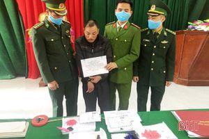 Bắt đối tượng vận chuyển, tàng trữ hơn 600 viên hồng phiến trên địa bàn Hà Tĩnh
