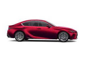 Lexus IS 2021 ra mắt tại Việt Nam, giá từ 2,130 tỷ đồng