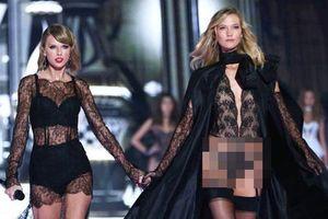 Từng 'chị chị em em' thân thiết, Taylor Swift bị nghi viết bài hát đá xoáy 'Thiên thần nội y' Karlie Kloss