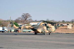 Trực thăng quân sự Nga sản xuất rơi tại Sudan
