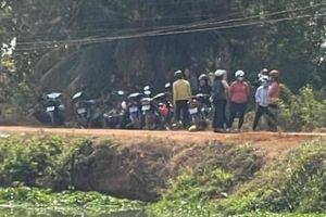 Ba mẹ con rơi xuống sông mất tích ở Tây Ninh