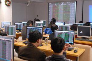 VN - Index 'loanh quanh' vùng đỉnh, cổ phiếu ngành chứng khoán 'miệt mài' tăng giá