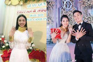 Sau Á hậu Thúy An, điểm danh loạt sao Việt vàng đeo 'đỏ người' trong ngày cưới