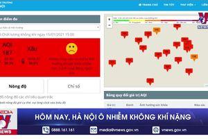 Hôm nay, Hà Nội ô nhiễm không khí nặng