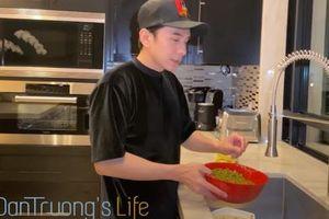 Nhớ Việt Nam, Đan Trường vào bếp nấu chè đậu xanh hạt sen