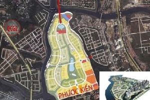 Dự án Bắc Phước Kiển - Nhà Bè: Quốc Cường Gia Lai khởi kiện Sunny Island
