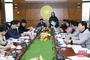 Cụm thi đua số 5 tỉnh Thanh Hóa đẩy mạnh các phong trào thi đua yêu nước