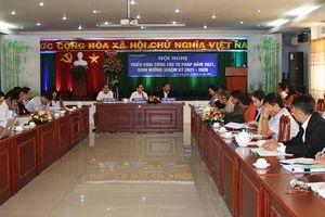 Triển khai công tác Tư pháp tỉnh An Giang năm 2021