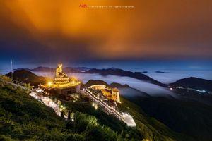 Giải thưởng nhiếp ảnh quốc tế Monochrome Awards tôn vinh ảnh đại tượng Phật trên đỉnh Fansipan