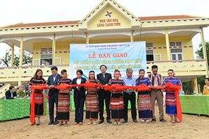 Cảng Quy Nhơn bàn giao công trình Điện năng lượng mặt trời tại tỉnh Bình Định