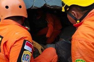 Số người tử vong trong vụ động đất tại Indonesia tăng nhanh