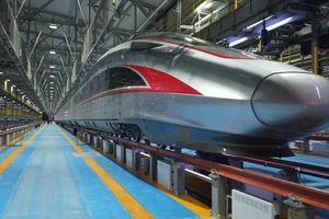 Trung Quốc thử nghiệm tàu đệm từ chạy đạt vận tốc 620 km/h