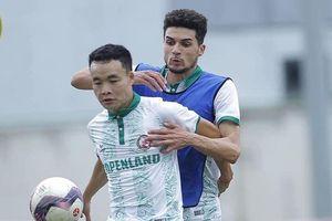 Cựu cầu thủ U16 Barca không thể giúp CLB Bình Định thắng SLNA