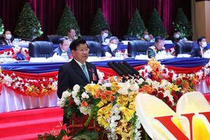 Đồng chí Thongloun Sisoulith được bầu giữ chức Tổng Bí thư Đảng NDCM Lào