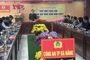 Lãnh đạo Công an TP Đà Nẵng gặp mặt các cơ quan báo chí