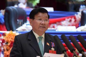 Điện mừng Tổng Bí thư Ban Chấp hành Trung ương Đảng Nhân dân Cách mạng Lào khóa XI