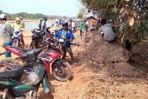 Tìm được thi thể em bé trong vụ 3 mẹ con nhảy sông tự tử ở Tây Ninh