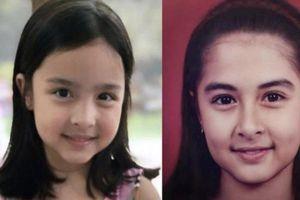 Khoe ảnh cùng con gái, 'mỹ nhân đẹp nhất Philippines' lại gây sốt
