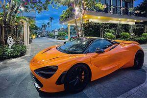 Đại gia Vũng Tàu tậu siêu xe McLaren 720S Spider hơn 23 tỷ