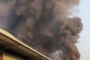 Điều tra vụ cháy trong đêm thiêu rụi một cơ sở sản xuất gỗ