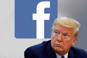 Facebook bất ngờ trả lại tài khoản cho Tổng thống Trump