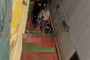 Nam thanh niên rơi từ mái nhà xuống đất tử vong