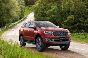 Loạt xe Ford được ưu đãi, giảm giá trong tháng Giêng