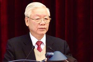 Tổng Bí thư Nguyễn Phú Trọng: Thống nhất giới thiệu nhân sự lãnh đạo chủ chốt khóa XIII